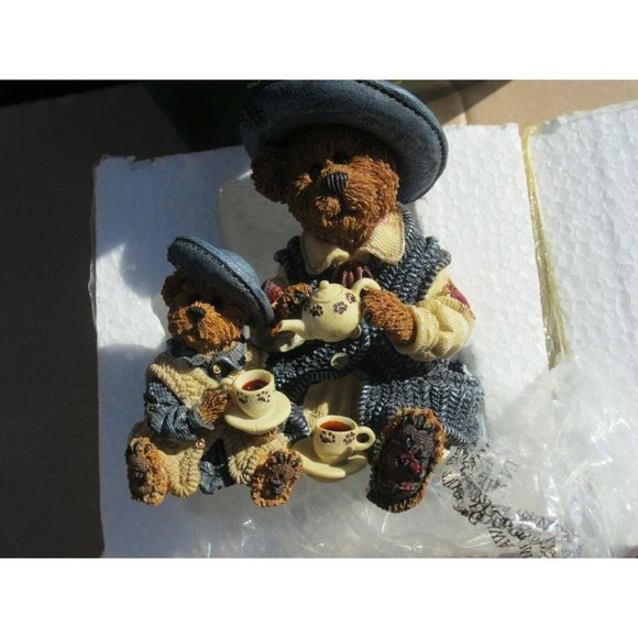 Fine Cup Of Tea For Two Bears Boyds Bears New